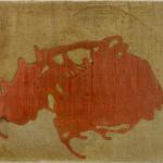 Repetition d'une tâche , 50 x 60 cm