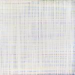 Gedankenübertragung,  130 x 130 cm