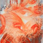 ölauflackaufleinwand, 50 x 60 cm, Acryl auf Leinwand