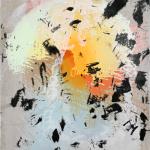 Schnörkellose Darstellung  50 x 60 cm, Acryl auf Leinwand