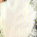 Ich komm nicht vom Fleck weg,  130 x 160 cm, Acryl auf Rohleinen