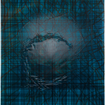 Membran Acryl auf Leinwand, 50 x 60 cm, 2020