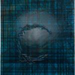 Membran Acryl auf Leinwand, 50 x 60 cm