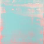 Hab mich verschwommen, Lack auf Leinwand, 50 x 60 cm, 2020