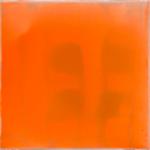 """Leuchtkörper"" Lack auf Leinwand, je 30 x 30 cm"
