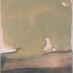 Sandsturm im Wasserglas, 40 x 50 cm, Acryl auf Leinwand, 2020