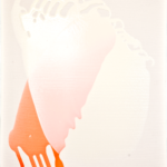 Über Schnittmengen,  Acryllacke auf Leinwand, 50 x 60 cm