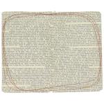 Syrakus ist umkreist, 30 x 30 cm, Naht und Papier auf Papier